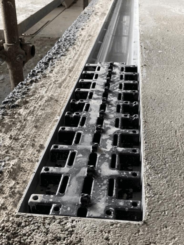 canalette grigliate